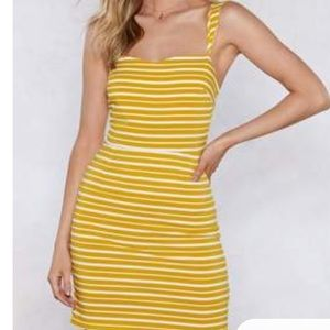Your Heart is in the Stripe Place Mini Dress